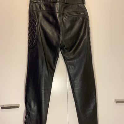 Leather jeans from Expectations of London – 30/31 waist – Brand New!
