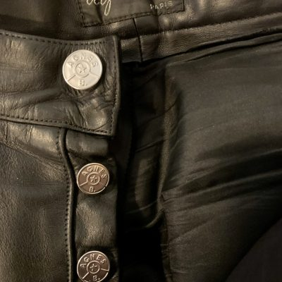 Leather pants – Aguis – Size 31