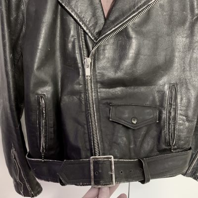 Leather jacket – 46cm chest